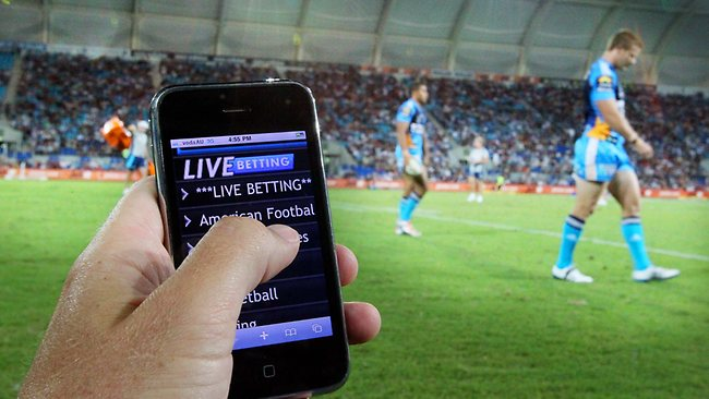 live mobile betting online