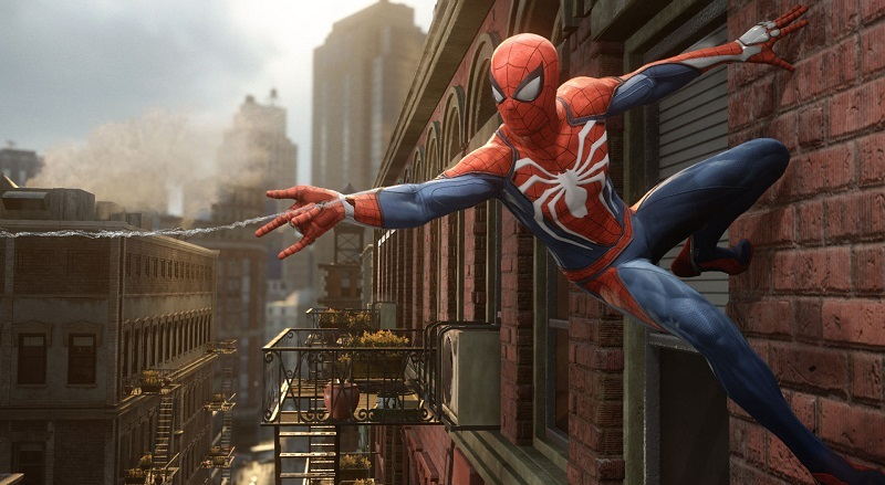 spiderman for PS4 e3 2017 Sony exclusive