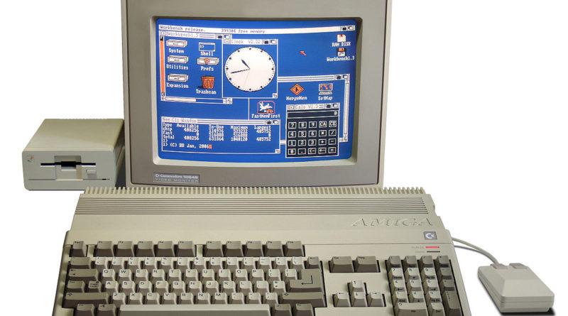 Amiga commodore Atari computer