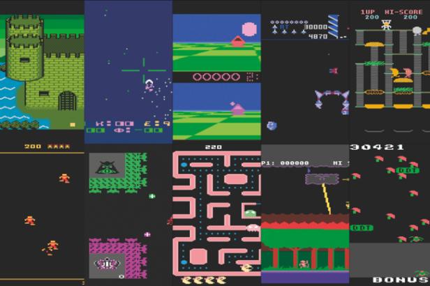 Old School Atari Games