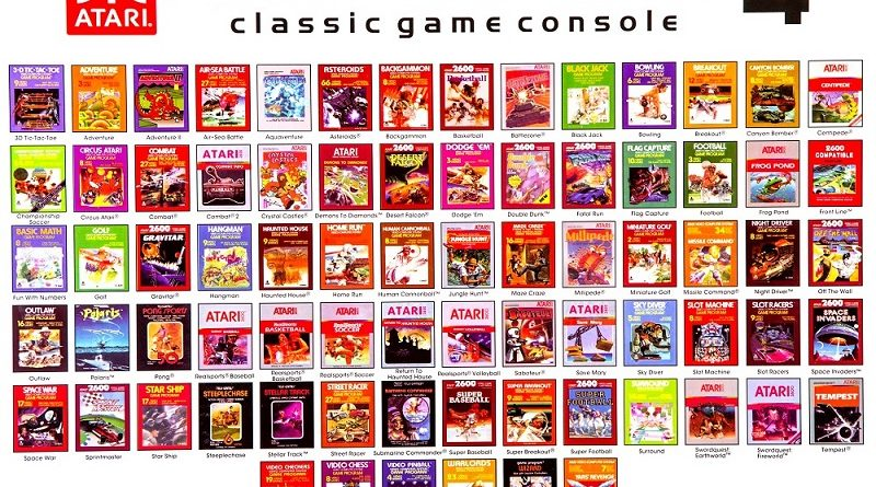 Top 5 atari games for atari consoles