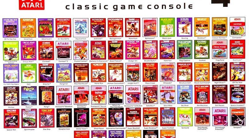 Top 5 atari games for atari consoles