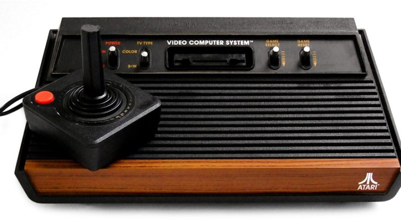 Vintage Atari Console