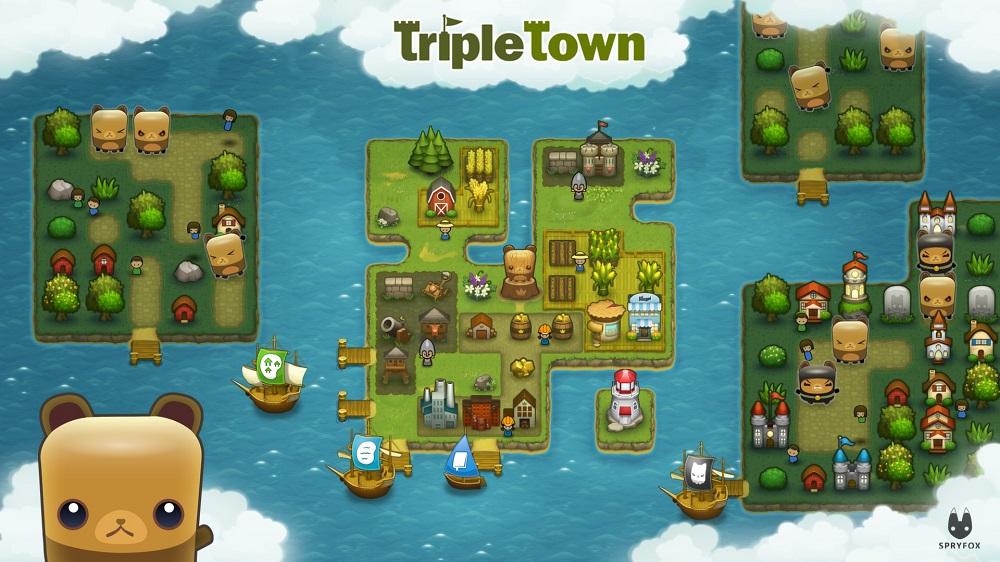 Triple Town puzzle games - online games