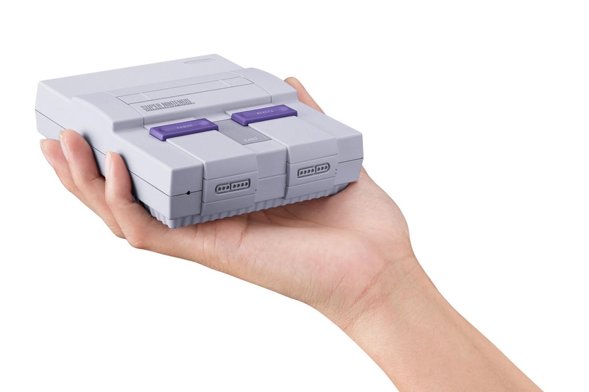 Nintendo SNES classic console