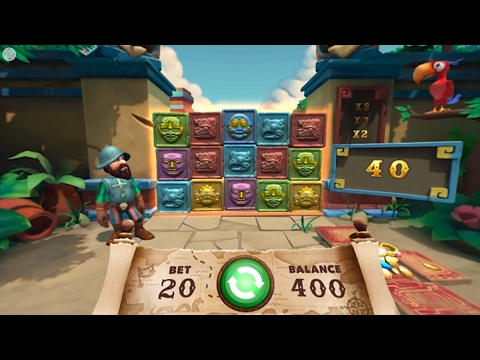 Gonzos Quest VR - Virtual Reality Gaming - Online Gaming